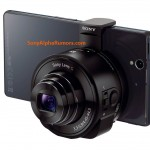Sony Lens Camera DSC-QX10 and DSC-QX100-01