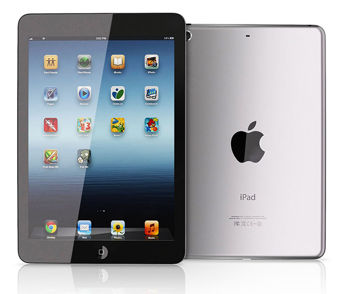 iPad Mini 2 Enters Production