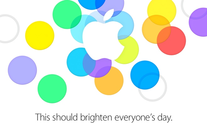 Apple iPhone event on September 10 is official
