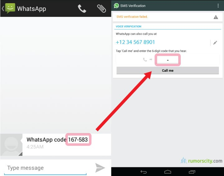 How to activate Whatsapp on Nexus 7 / Galaxy Tab without rooting
