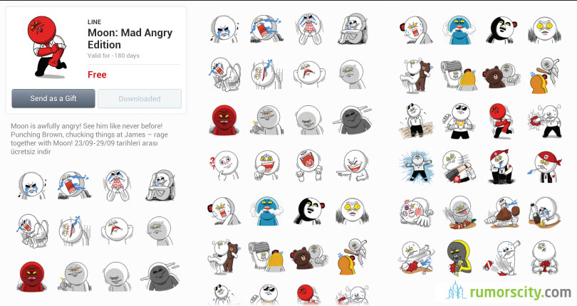 Line Sticker Free Download Iphone