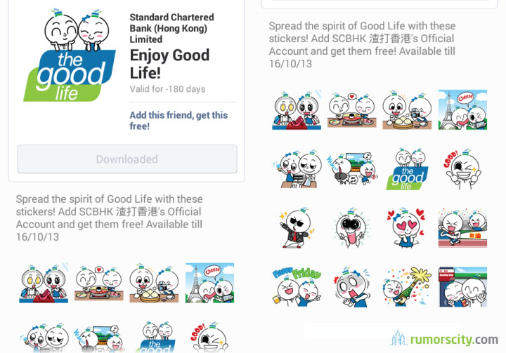 Enjoy-Good-Life-Line-sticker-in-Hong-Kong-01