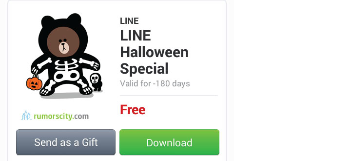 New-Line-Halloween-Special-Sticker