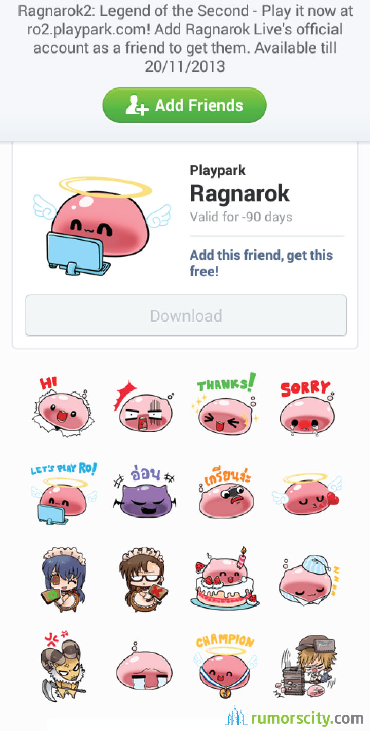 Ragnarok-Line-sticker-in-Thailand-02