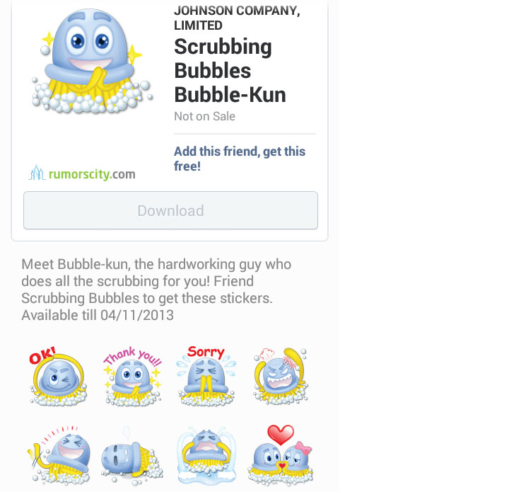 Scrubbing-Bubbles-Bubble-Kun-Line-sticker-in-Japan-01