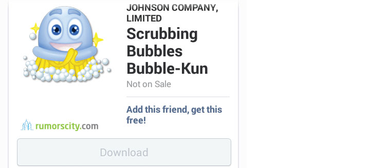 Scrubbing-Bubbles-Bubble-Kun-Line-sticker-in-Japan