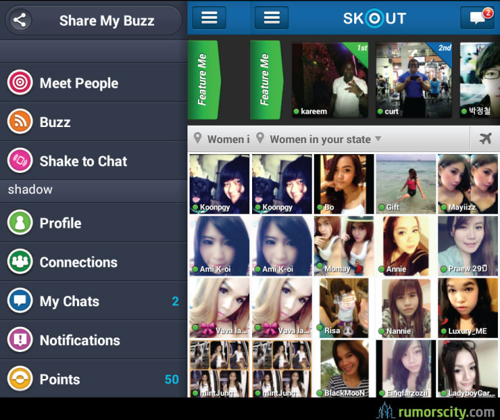 Online dating sites like skout