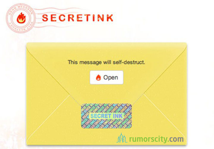 SecretInk-sending-message-like-a-secret-agent