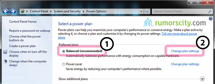 how to change use control security for each program