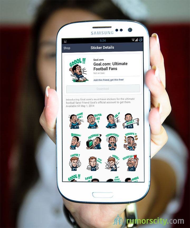 Goal-com-Ultimate-Football-Fans-Line-sticker-in-Singapore