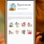 iFit-Lets-Fit-Your-Life-Line-sticker-in-Taiwan