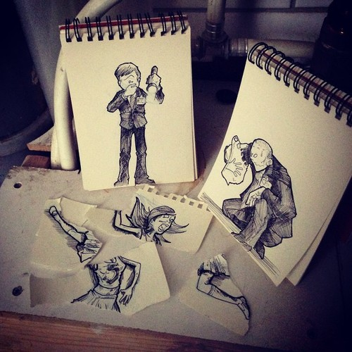 Illustrator Creates Stunning Doodles That Interact With Their Surroundings-04