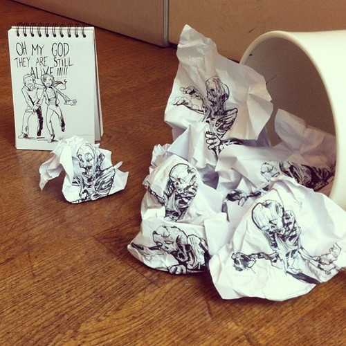 Illustrator Creates Stunning Doodles That Interact With Their Surroundings-07