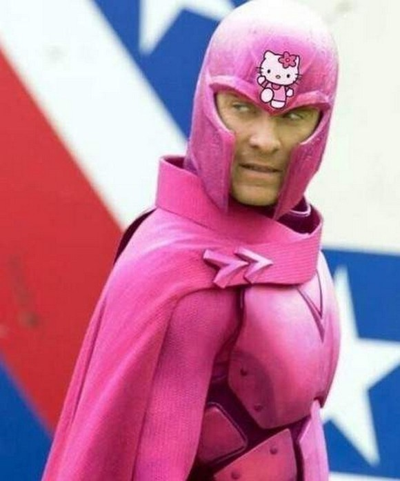 Superheroes With A Hello Kitty Makeover This is Hilarious-07