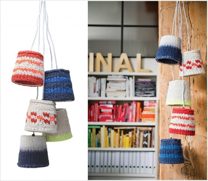 10 Ideas To Decorate With Knitted Items-10