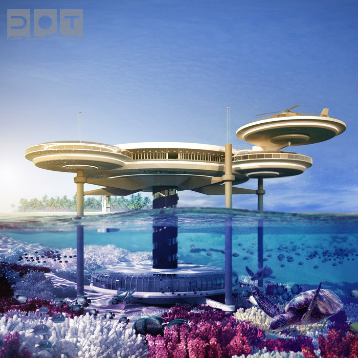Explore The Underwater World From The Comfort Of Your Bedroom In This Underwater Hotel-04