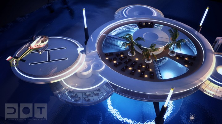 Explore The Underwater World From The Comfort Of Your Bedroom In This Underwater Hotel-05