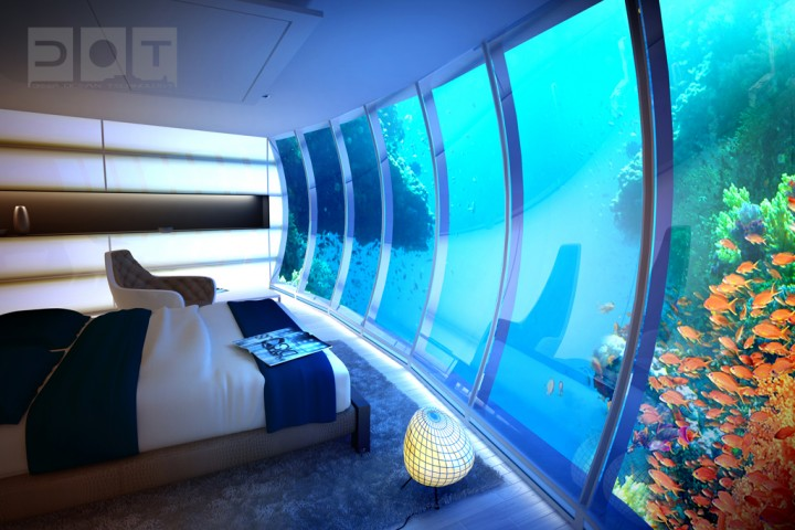 Explore The Underwater World From The Comfort Of Your Bedroom In This Underwater Hotel-08