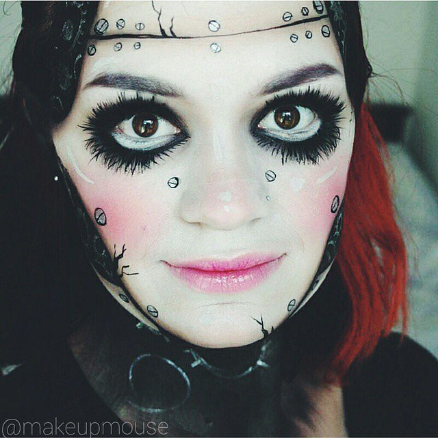 Makeup Tricks For All Your Halloween Needs-15