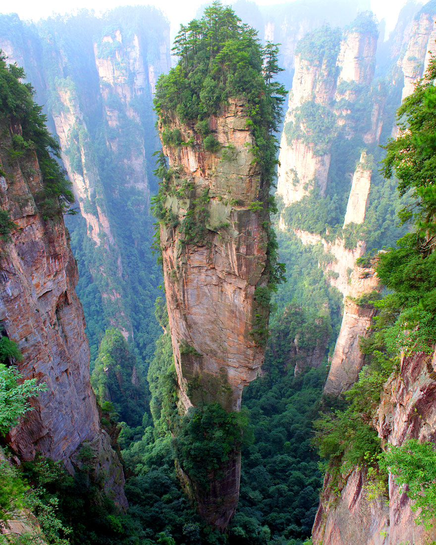places china mountains earth place tianzi scenic beauty amazing country night te travel picturesque highest