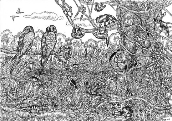 This 11 Year Old Boy Creates The Most Awesome And Detailed Drawings You Have Ever Seen-01
