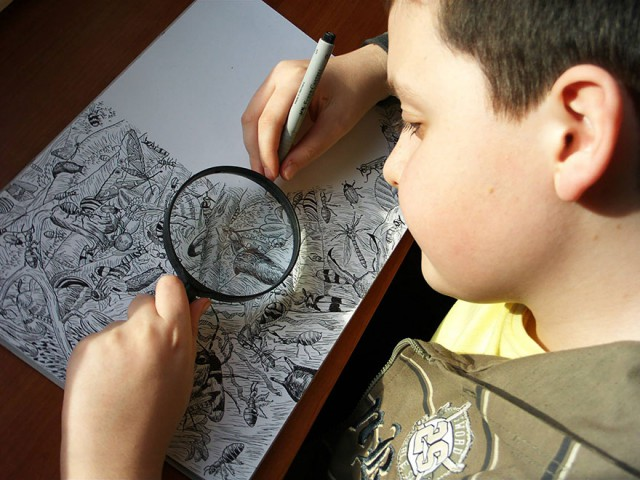 This 11 Year Old Boy Creates The Most Awesome And Detailed Drawings You Have Ever Seen-06