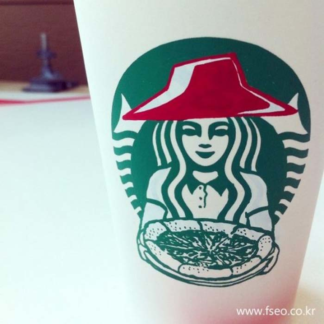 This Guy Has A Range Of Starbucks Cup Collection You Will Be Amazed At What He Did With Them-08