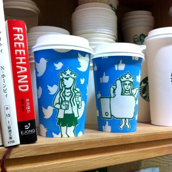 This Guy Has A Range Of Starbucks Cup Collection You Will Be Amazed At What He Did With Them-11