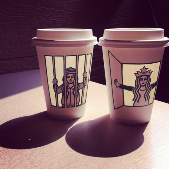 This Guy Has A Range Of Starbucks Cup Collection You Will Be Amazed At What He Did With Them-12