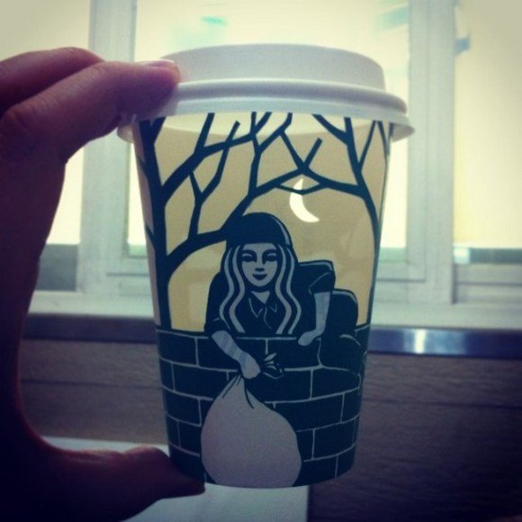 This Guy Has A Range Of Starbucks Cup Collection You Will Be Amazed At What He Did With Them-13