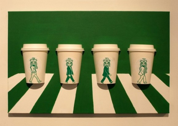 This Guy Has A Range Of Starbucks Cup Collection You Will Be Amazed At What He Did With Them-15