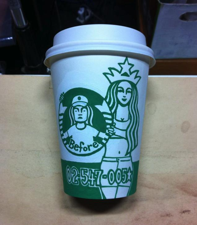 This Guy Has A Range Of Starbucks Cup Collection You Will Be Amazed At What He Did With Them-18