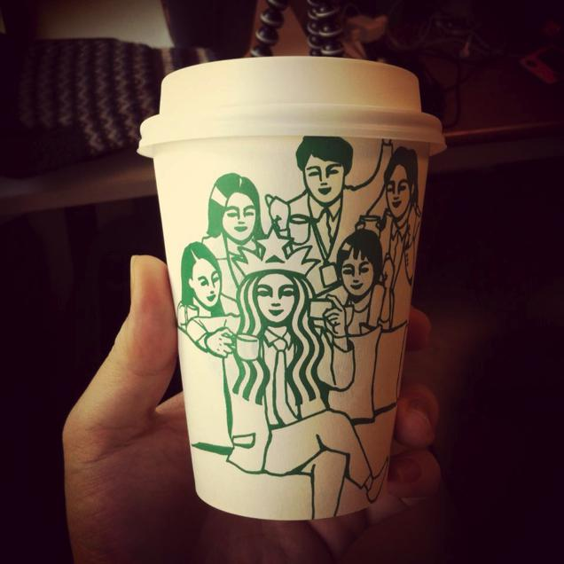 This Guy Has A Range Of Starbucks Cup Collection You Will Be Amazed At What He Did With Them-19