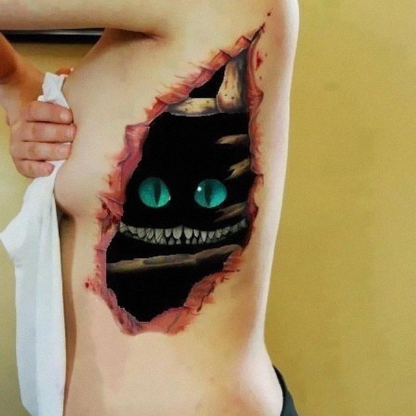 3D Tattoos That Are So Realistic That It Will Blow Your Mind-12