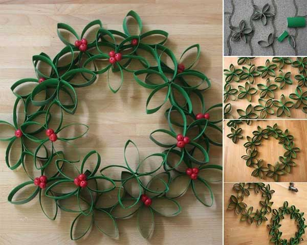 25 budget friendly diy christmas decorations - Adornos de papel para navidad ...