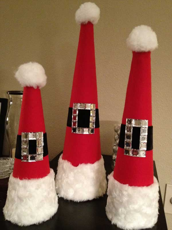 25 budget friendly diy christmas decorations. Black Bedroom Furniture Sets. Home Design Ideas