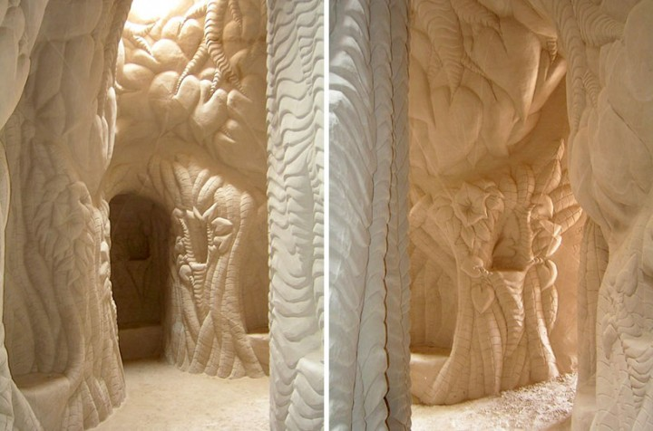 This Artist Carved A Giant Cave For The Past Ten Years-10