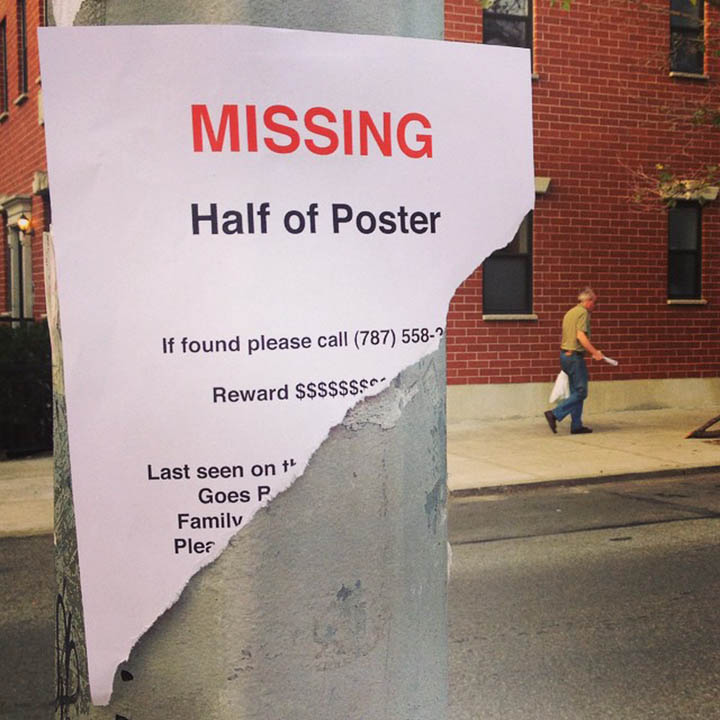 Comedian Plasters Funny Posters On The Streets Of New York City-10