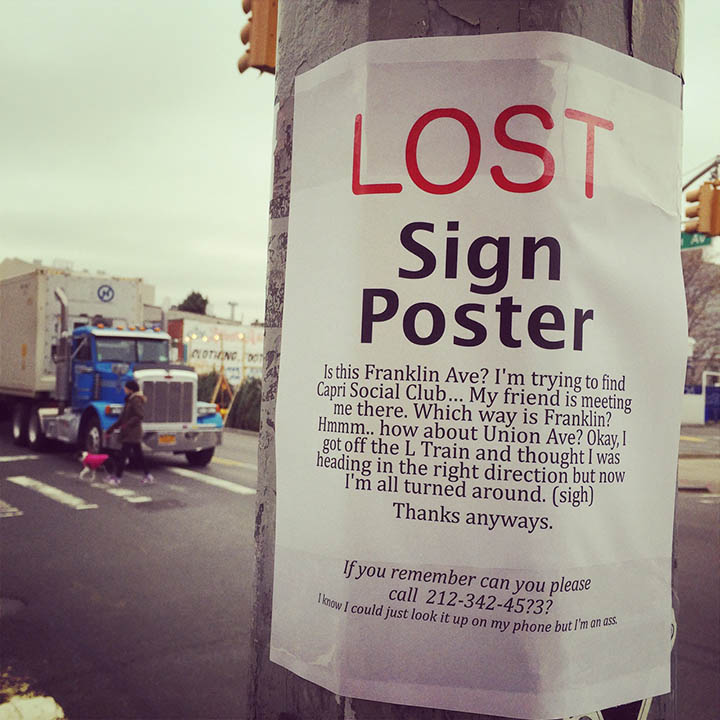 Comedian Plasters Funny Posters On The Streets Of New York City-12