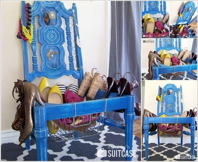 Creative Ideas To Repurpose And Upcycle Old Chairs-07