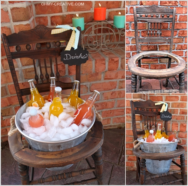 Creative Ideas To Repurpose And Upcycle Old Chairs-10