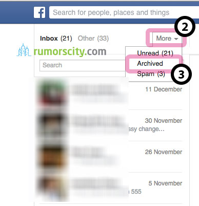 How To Hide And Unhide Any Facebook Chat Messages