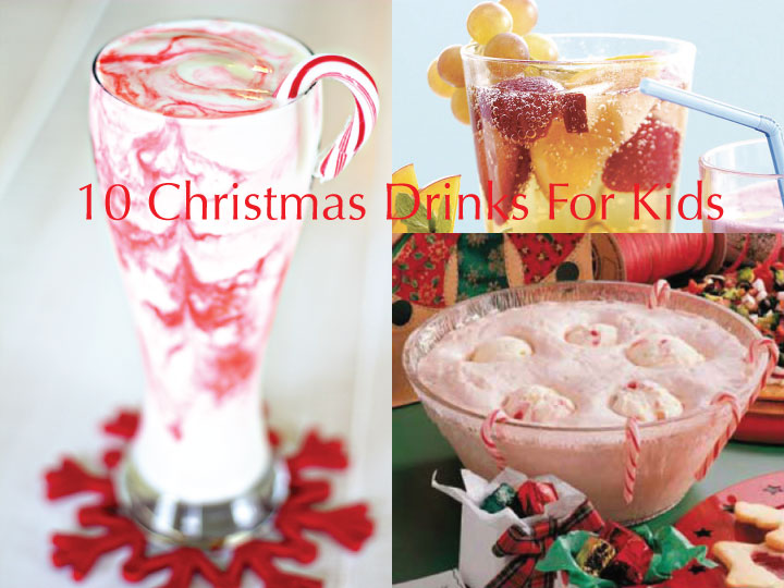 10 Non-Alcoholic Drinks For Kids This