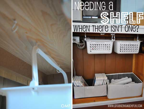 22 smart diy organization life hack ideas and storage Diy under counter storage