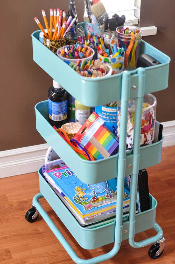 Smart DIY Organization Life Hack Ideas And Storage Solutions-11
