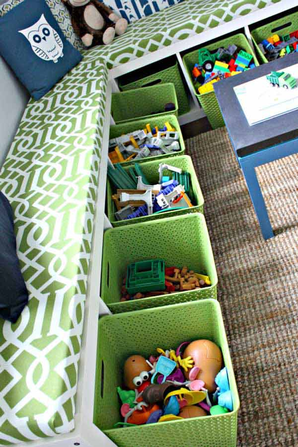 Smart DIY Organization Life Hack Ideas And Storage Solutions-19