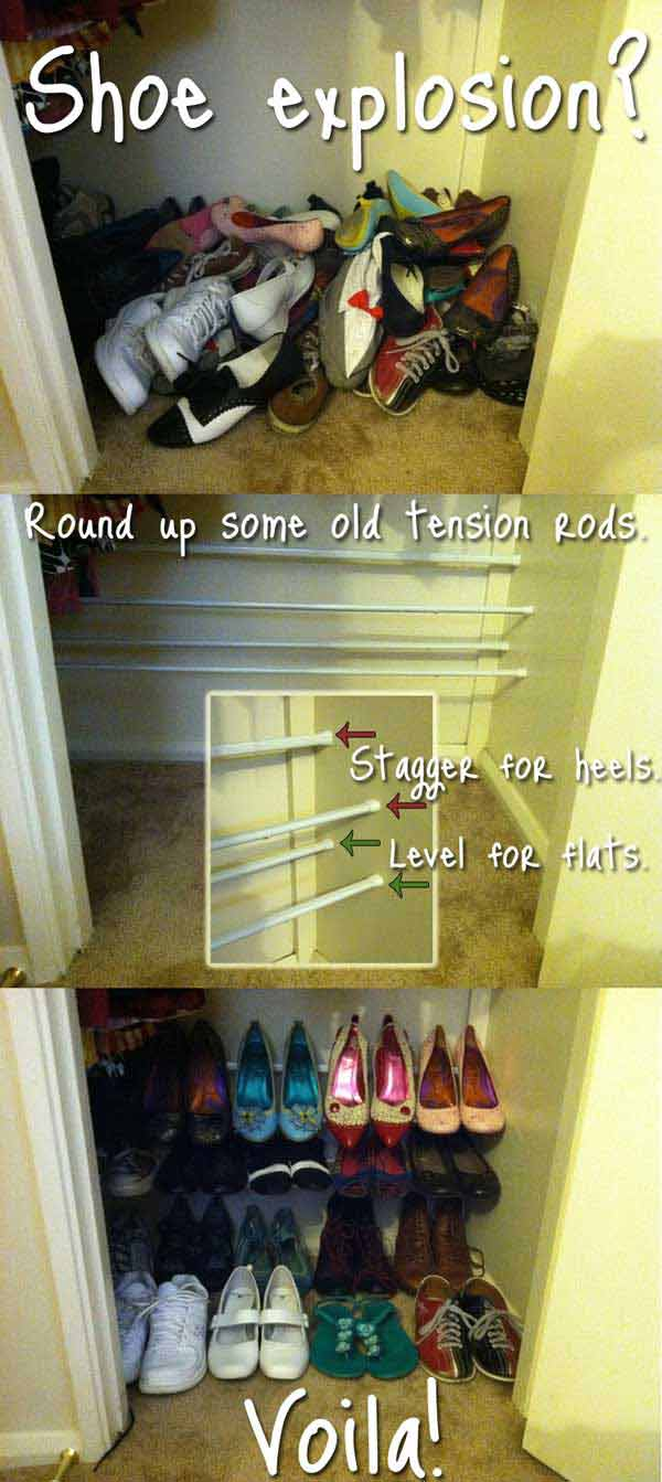 Smart DIY Organization Life Hack Ideas And Storage Solutions-20
