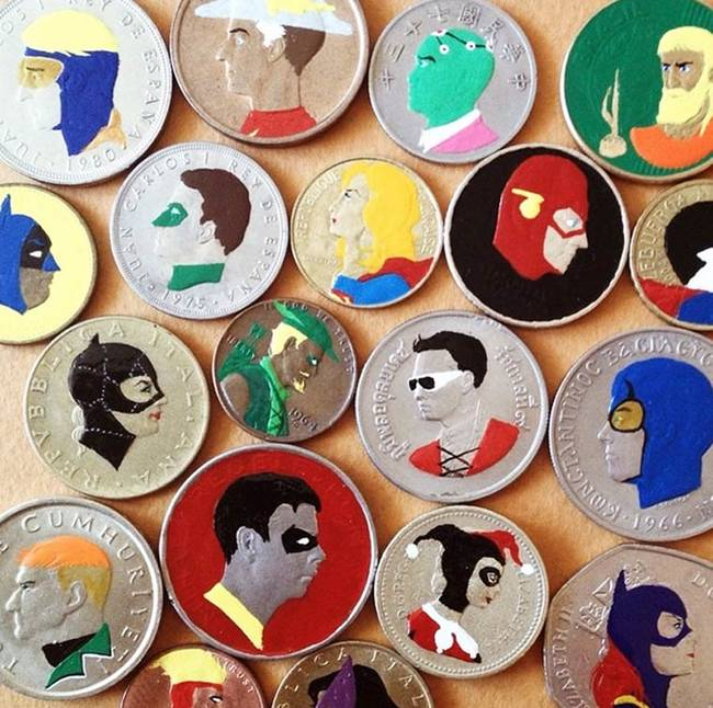 This-Artist-Transform-Coins-Into-Pieces-Of-Pop-Culture-11