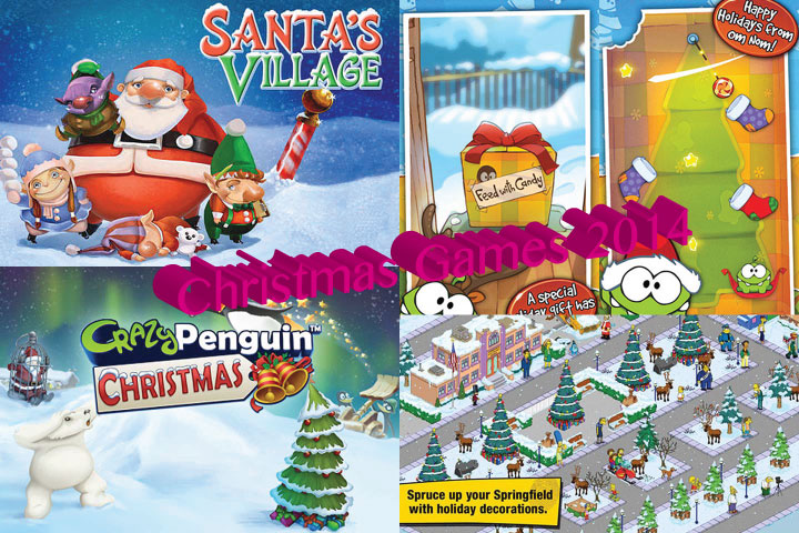 top 10 christmas games for iphone and ipad
