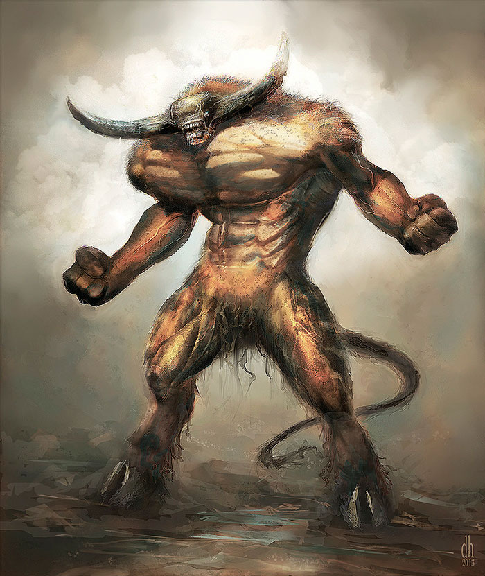 Artist Recreates Zodiac Signs As Awesome Monsters-02